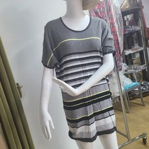 *Extra 50%OFF Kensie Girl Oversized Striped Top